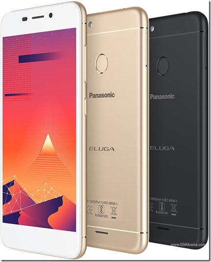 Panasonic Eluga I5, Smartphone 5 Inci dengan Fingerprint Sensor