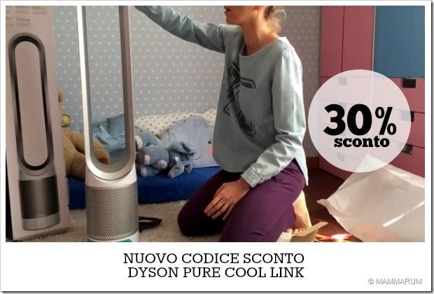 Nuovo codice sconto Dyson Pure Cool Link