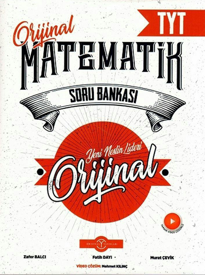 Orijinal Yayınları TYT Matematik Soru Bankası