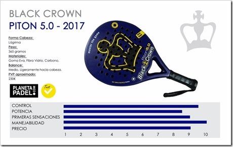 Análisis Black Crown PITON 5.0 2017: máxima fiabilidad desde el control y la manejabilidad.