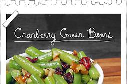 Cranberry Green Beans
