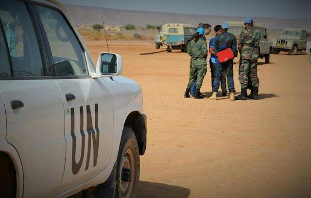 الولايات المتحدة تكذب الادعاءات المغربية, وتعلن دعمها لجهود الامم المتحدة للتوصل إلى حل يضمن حق الشعب الصحراوي في تقرير المصير.