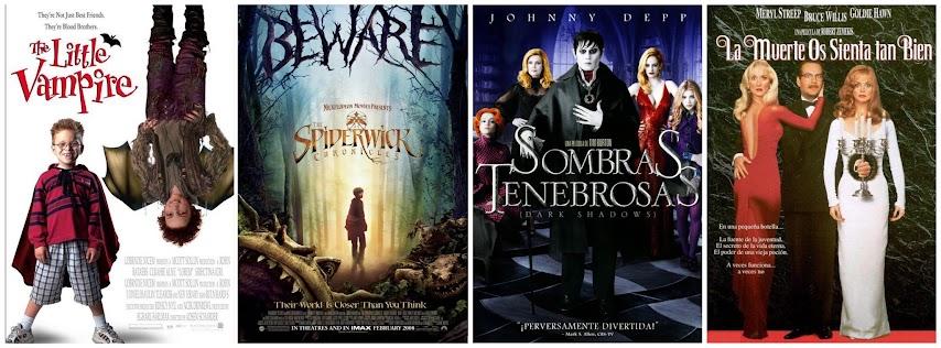 El pequeño vampiro, las crónicas de Spiderwick, Sombras tenebrosas y la muerte os sienta tan bien
