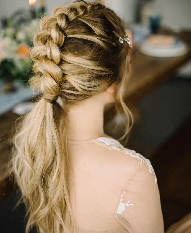 31 Hot Braided Long Hair for Wedding