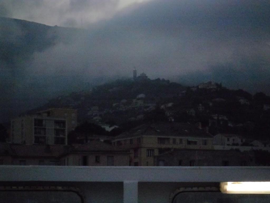 Départ de Bastia par le ferry