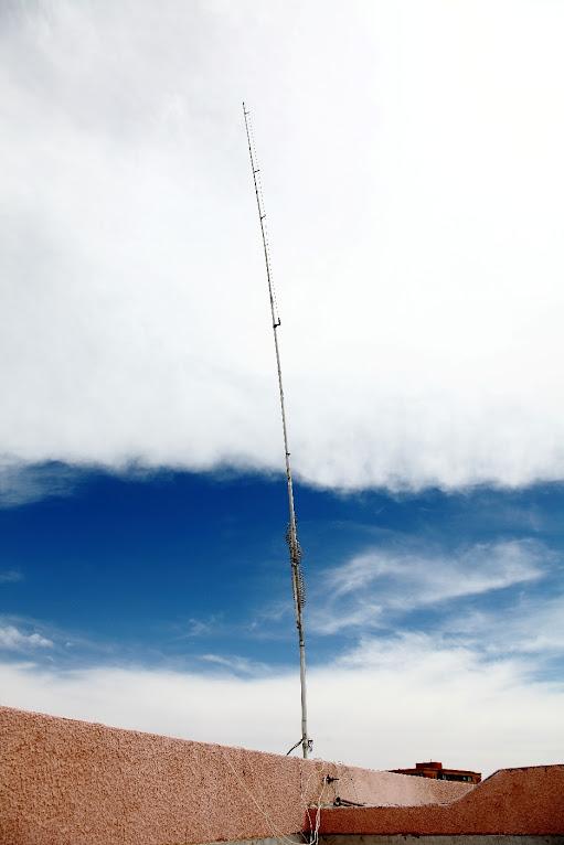 Antena multibanda Butternut HF6V, de 10 a 80 metros