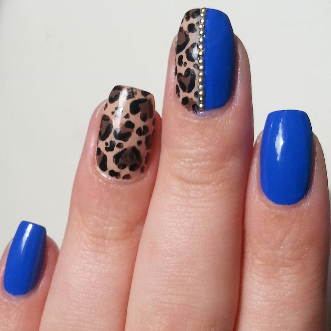 Blue Nail Art Designs 2018 - style you 7