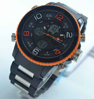 Jual jam tangan Swiss army double time