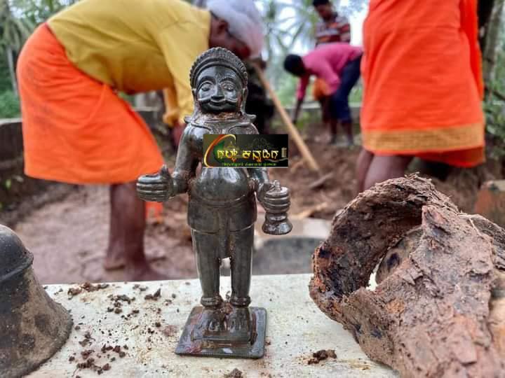 Mangalore- ಗುರುಪುರದಲ್ಲೊಂದು ಅಚ್ಚರಿ- 300 ವರ್ಷಗಳ ಹಳೆಯ ದೈವದ ಮೂರ್ತಿ ಪತ್ತೆ
