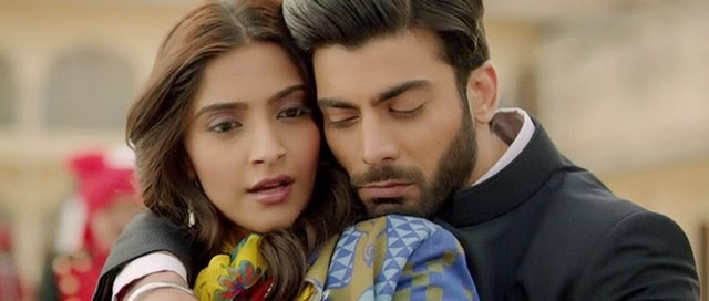 Screen Shot Of Hindi Movie Khoobsurat (2014) Download And Watch Online Free at alldownloads4u.com
