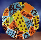 African Plate by Tayla