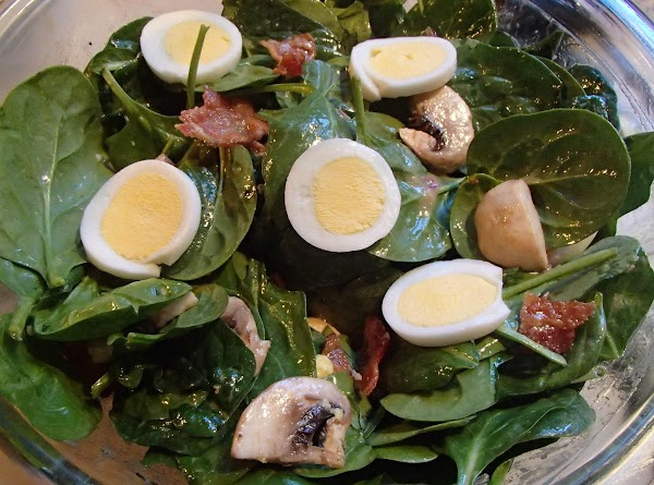 Thea's Spinach Salad Recipe