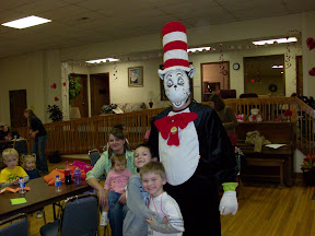 The boys loved having their pictures made with the Cat in the Hat