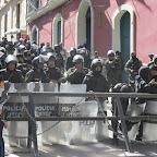 Protestas La Paz