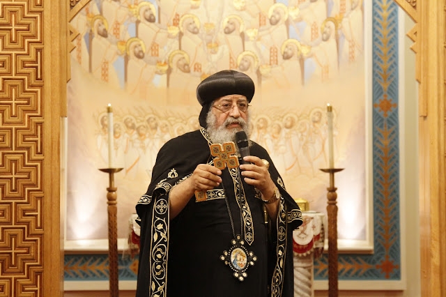 His Holiness Pope Tawadros II visit to St. Mark LA - _MG_0534.JPG