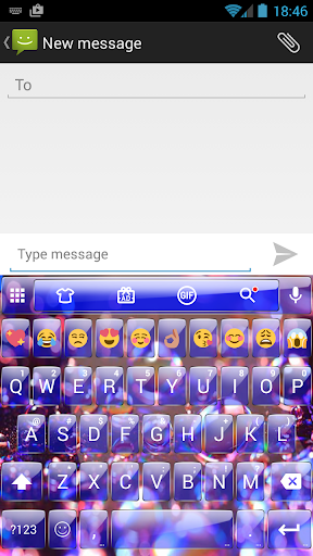 Glass DropsRef Emoji Keyboard