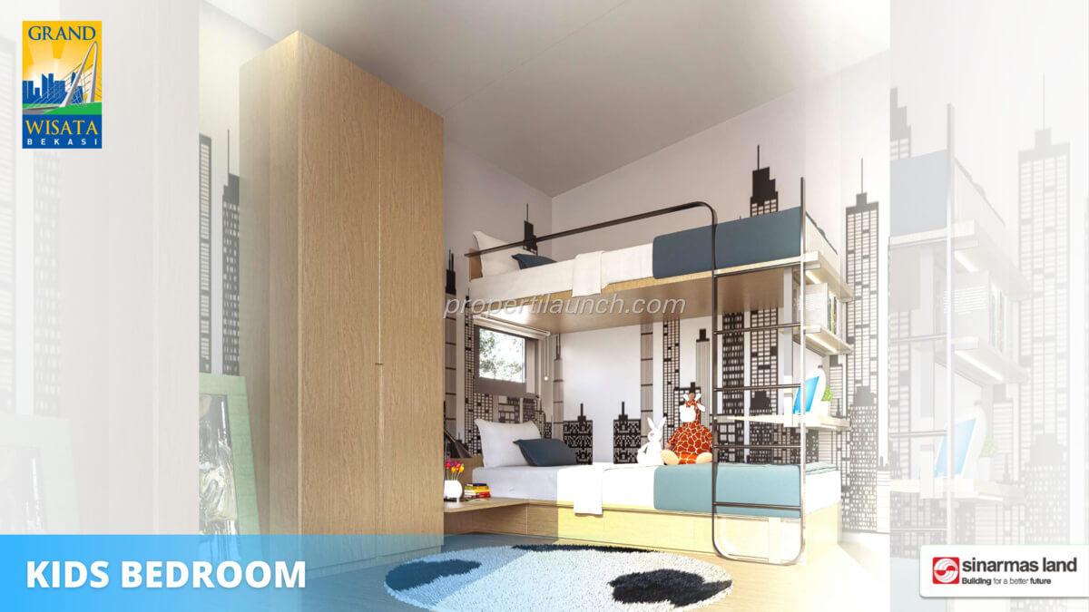 Rumah O8 Bekasi - Kids bedroom