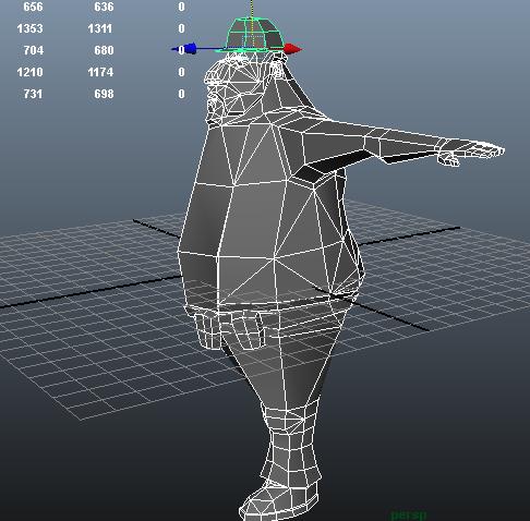 Builder model, almost complete.