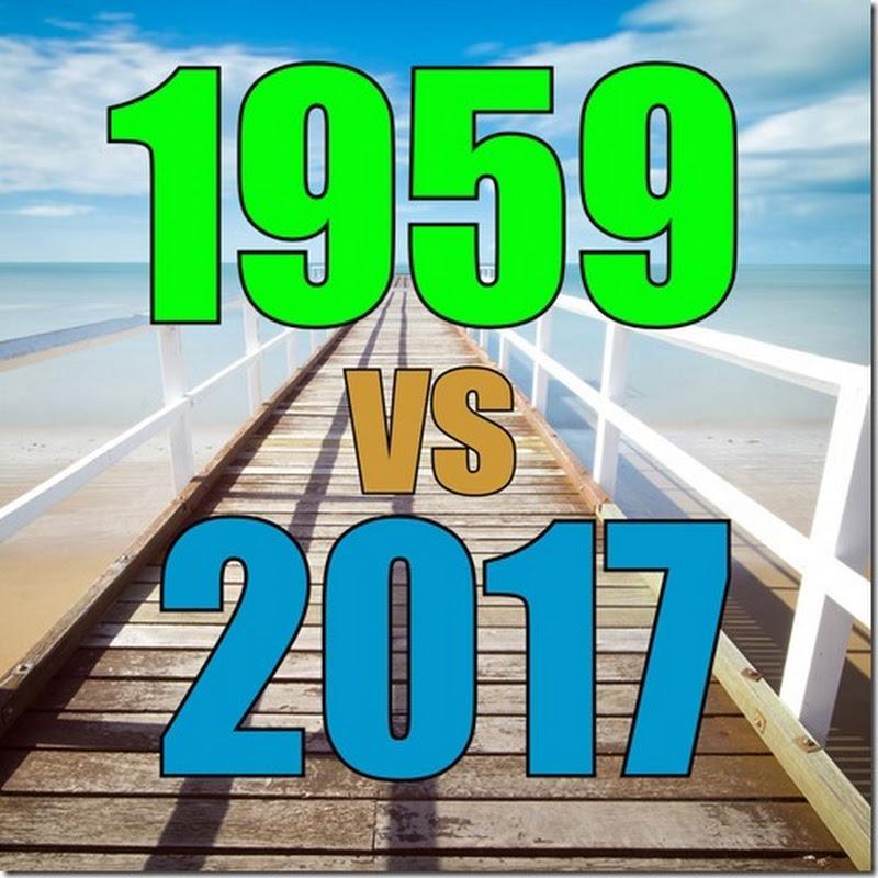 PSICOLOGIA 1959 vs 2017