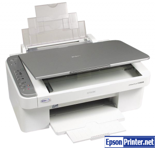 How to reset Epson CX3650 with tool