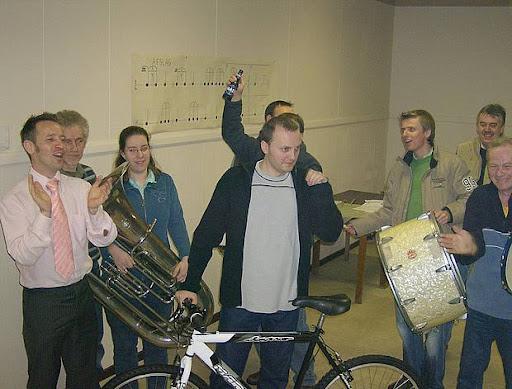 20070203 - Afhalen hoofdprijs eetfestijn