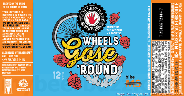 Left Hand Brewing Wheels Gose 'Round