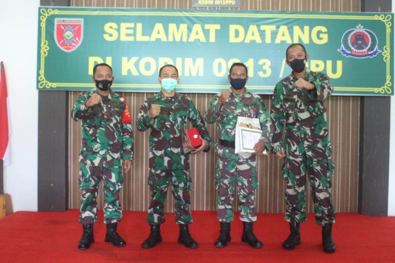 Situasi Pandemi, Kodim 0913/PPU Laksanakan Acara Korps Raport Dengan Sederhana