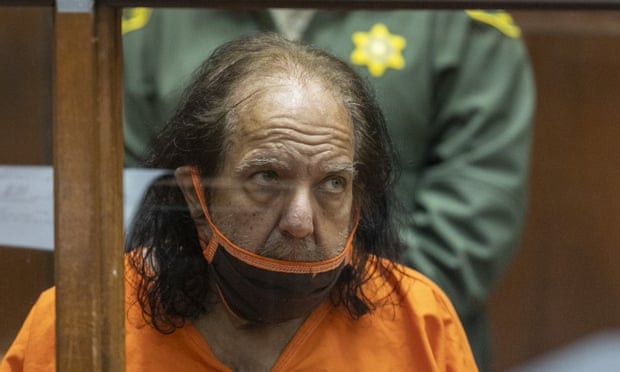 Adult film star Ron Jeremy indicted on more than 30 counts of xual assault