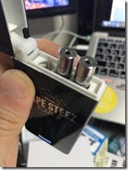 IMG 2073 thumb - 【本体】「VAPE STEEZ VS-1」レビュー。誰でも簡単にVAPEが楽しめるイージーなスターターキット!【VAPE/スターターキット/初心者/電子タバコ】