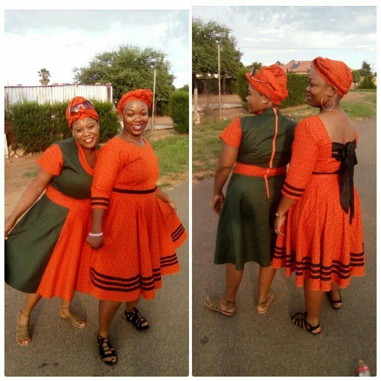 Shweshwe Dresses Designs 2018 South African