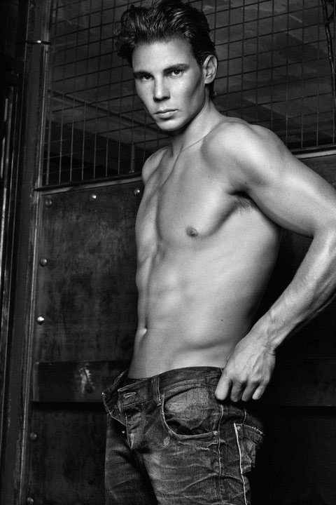 Rafael Nadal for Armani Jeans F/W 2011 by Steven Klein