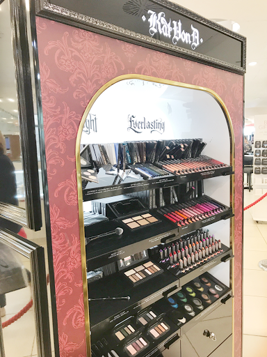 Kat Von D counter in Debenhams, Birmingham