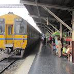 Bangkok Hauptbahnhof - Zug nach Chiang Mai