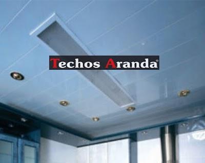 Proyecciones Techo Aluminio Baño Madrid