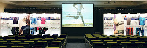 Modeshow en congres: voor de actie begint