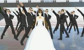 ID Dekorasi Pernikahan di Sakura School Simulator Dapatkan Disini