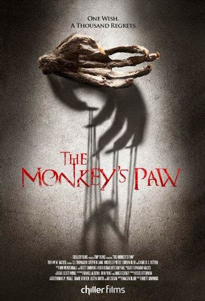 Poster Of English Movie The Monkey's Paw (2013) Free Download Full New Hollywood Movie Watch Online At Alldownloads4u.Com