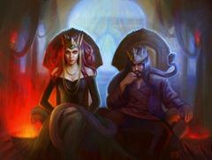 rey y reina como crear uan buena dinamica entre personajes fantasia novela