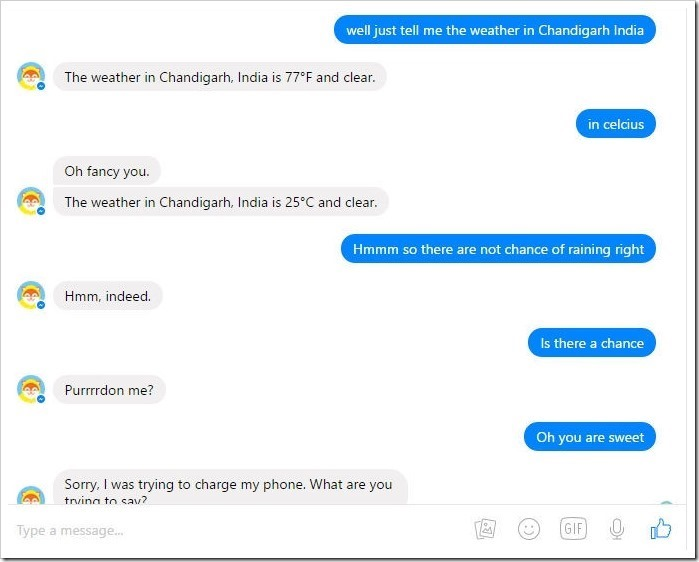 Facebook's Automated Messenger BOTS