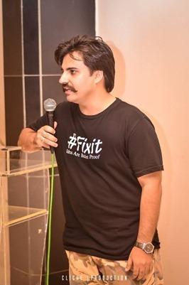Alamgir khan of Fixit compaign