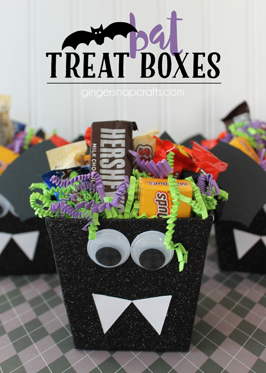 Bat Treat Boxes at GingerSnapCrafts.com