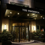 the Peninsula hotel in Shanghai, Shanghai, China
