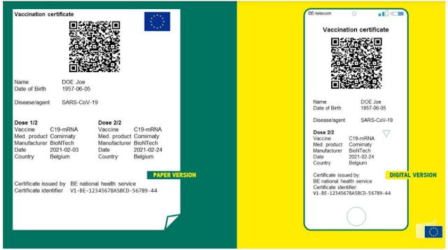 Presentado el Pasaporte Covid por la Comisión Europea para viajar