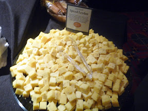 2013 Showcase of Wine and Cheese Boys and Girls Club Portland cheese buffet Jane Foods Spiced Leyden