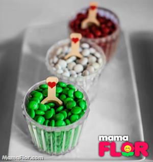 Dulces de La Caperucita Roja M&M
