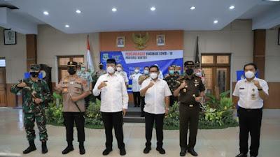 Kepala Daerah se-Banten Terima Vaksin Covid-19