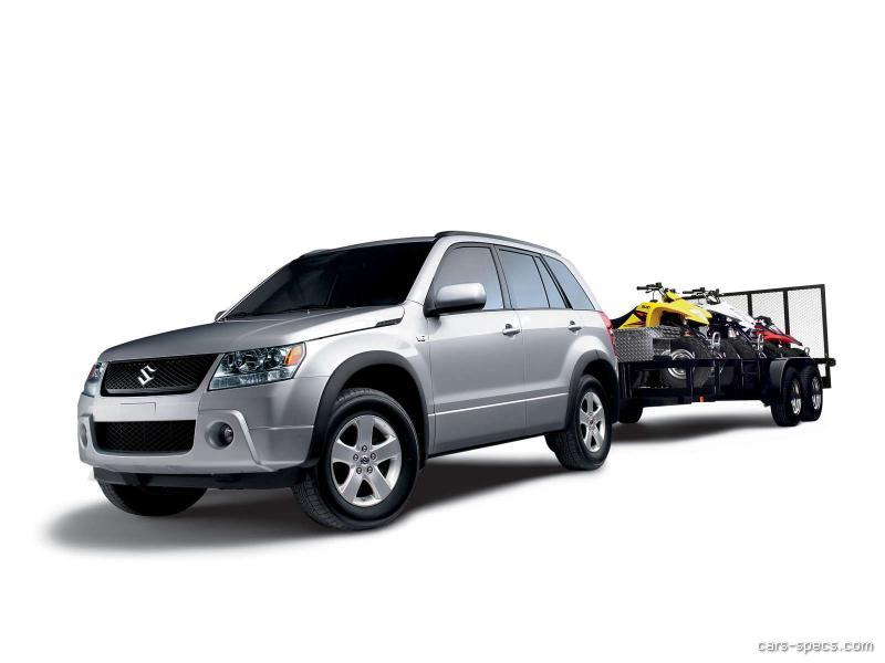 2006 suzuki grand vitara suv specifications pictures prices. Black Bedroom Furniture Sets. Home Design Ideas