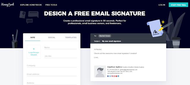 honeybook:  Esta herramienta te provee varias soluciones para pequeños negocios, desde crear facturas hasta firmas de correo, el servicio es gratuito y tienen algunas plantillas sencillas pero personalizables.