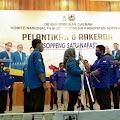 Sas Djayusman Sah Jabat Ketua DPD II KNPI Soppeng