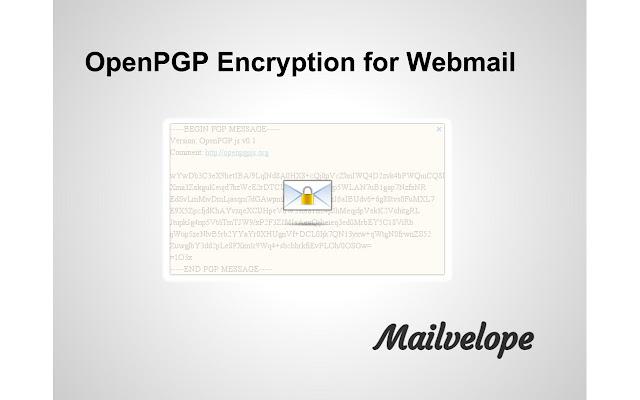 Mailvelope Screenshot